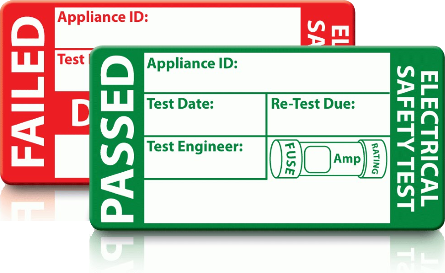 standard-passed-failed-pat-test-label